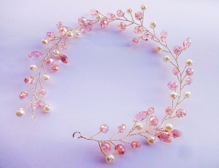 100% Handmade Hairband Princess Crystal Czech Rhinestone Bridal Headband Headpiece Wedding Hair Accessories Jewelry