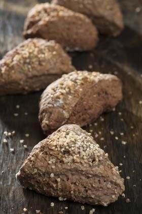 Quinoaboller Nem opskrift på kaloriefattige boller med quinoa og fuldkornshvedemel fra Familie Journals Slankeklub