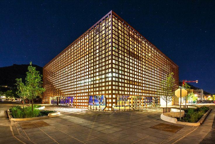 Aspen Art Museum by Shigeru Ban Architects
