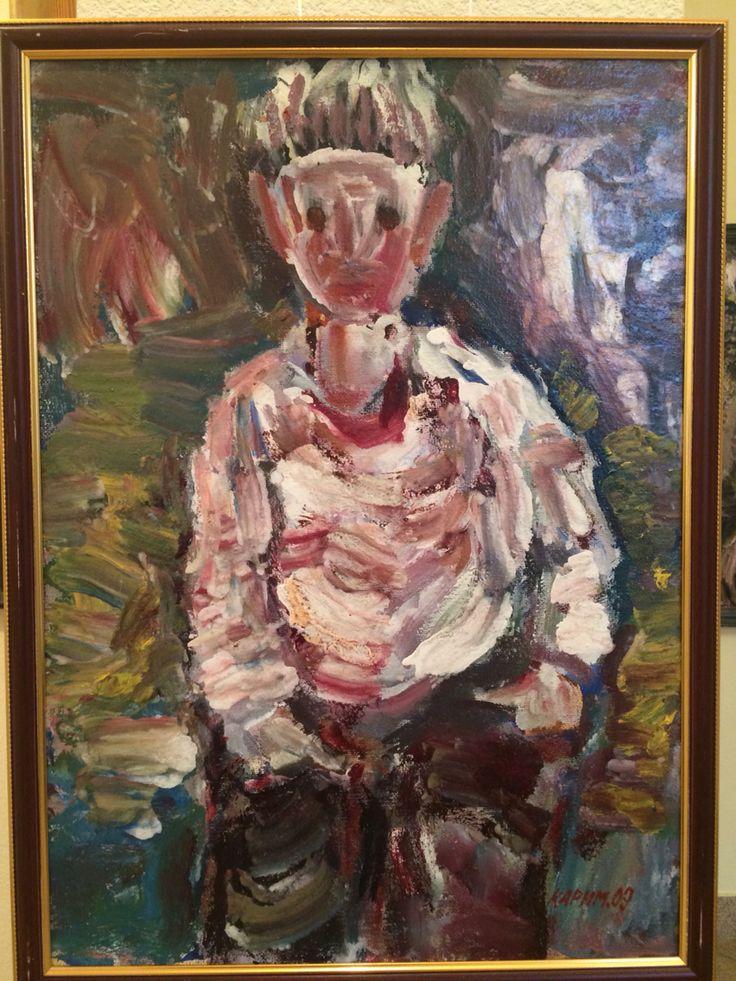Karimullin Ravkat Oil on canvas 60/80 cm.  2009.