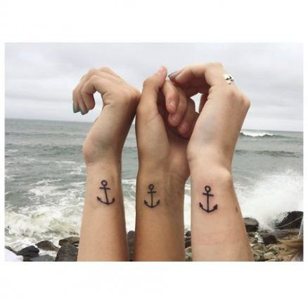 Tattoo Small Anchor Best Friends 15 Ideas
