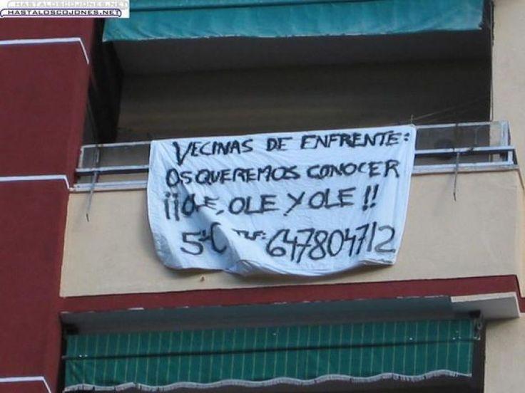 Vecinos agudizando el ingenio. Más en http://www.lasfotosmasgraciosas.com/carteles.html