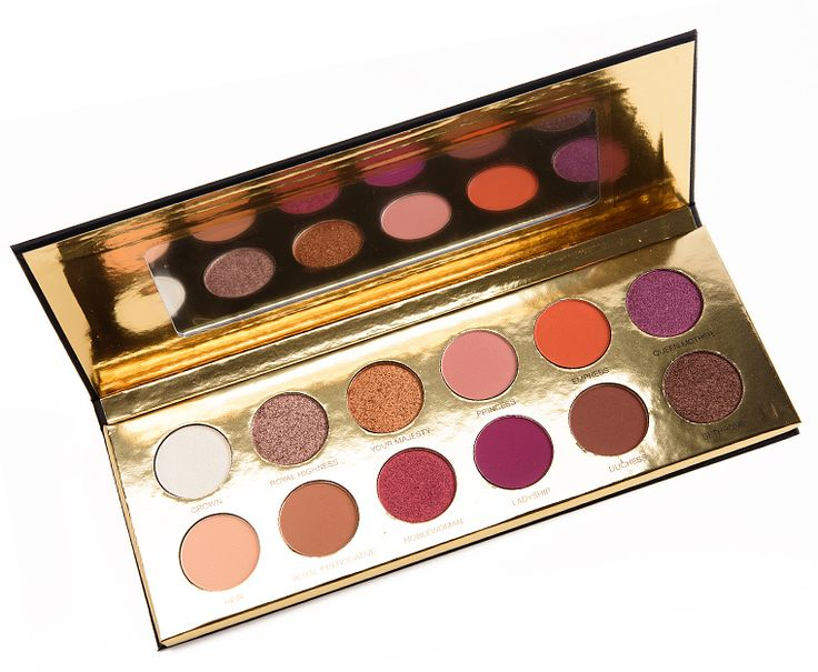 Sneak Peek: Coloured Raine Queen of Hearts Eyeshadow Palette Photos & Swatches