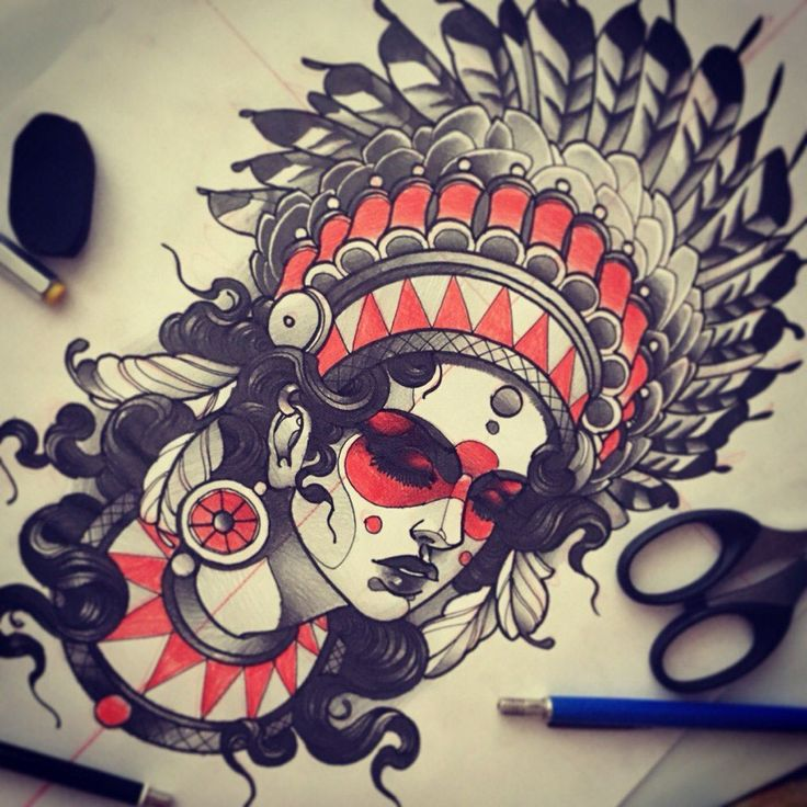 Indian on Behance