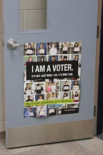 The Student Vote Ontario 2011 poster.