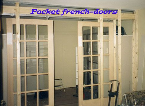 20 best images about french door redo on pinterest for Pocket french doors exterior