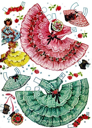 Lindy Lou & Cindy Sue: Paperdoll, Lou Cindy, Paper Fun, Dolls Clothing, Cindy Sue, Vintage Paper Dolls, Dolls Dresses, Lindy Lou, Linda Lou