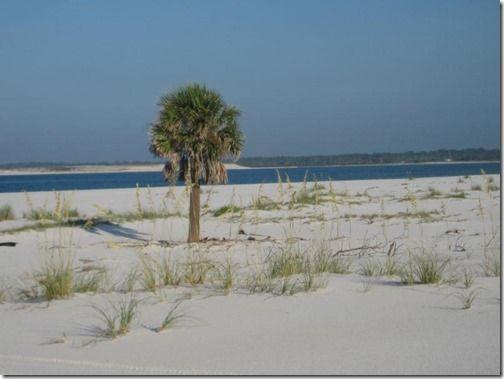 Gulf Islands National Seashore at Ocean Springs Mississippi