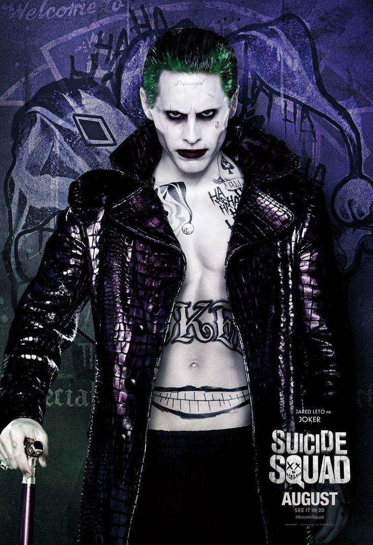 """Джокер из фильма """"Отряд самоубийц"""""""