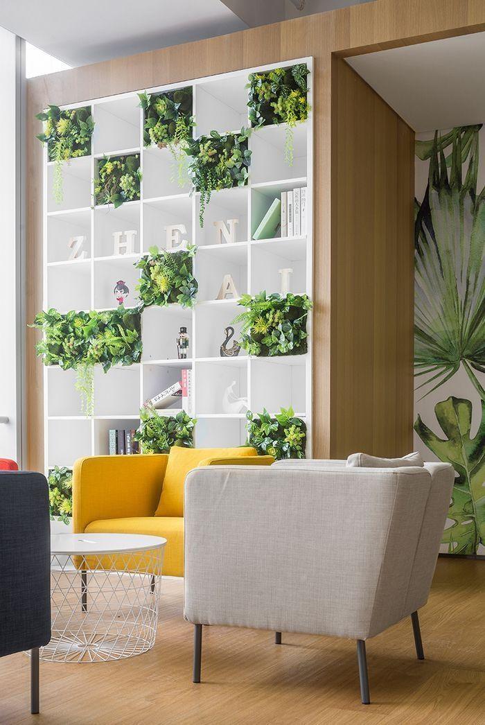 40 Relaxing Green Office Décor Ideas OFFICE Pinterest Office