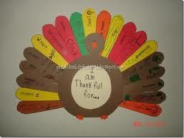 Love the idea of a Thankful tree...