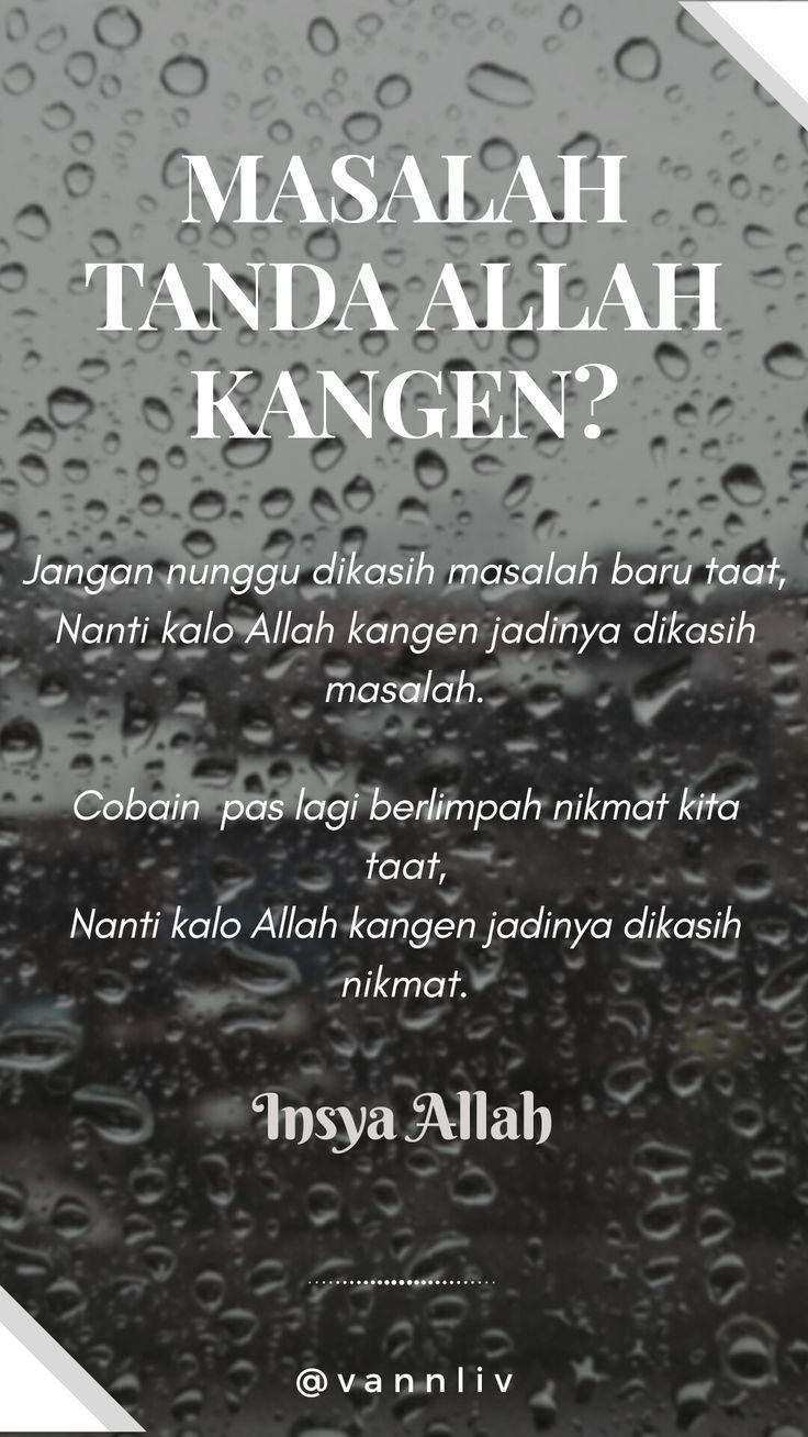 Allah kangen? #islam