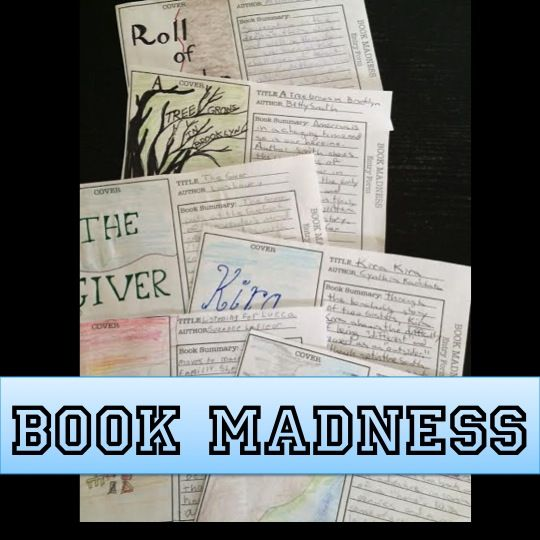 Everything Ed: March Madness: Skriv sammanfattning av bok, låt dem tävla i olika omgångar tills du har en vinnare (som basketturnering). Du skriver också en. Anonyma bidrag. Kanske om filmer som alternativ. Träning i sammanfattning? Diskussion om hur den blir bra?