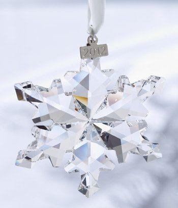 63 best SWAROVSKI SNOWFLAKES images on Pinterest  Snowflakes