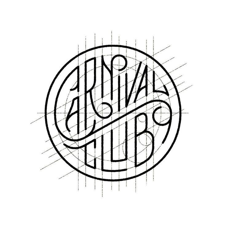 WIP - #lettering for #CarnivalClub #logo #handlettering #type #handtype…