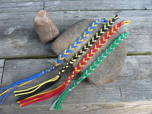 Harry Potter friendship bracelet/bookmarks