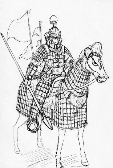 고구려 중무장 기병 Goguryeo heavily armed cavalry