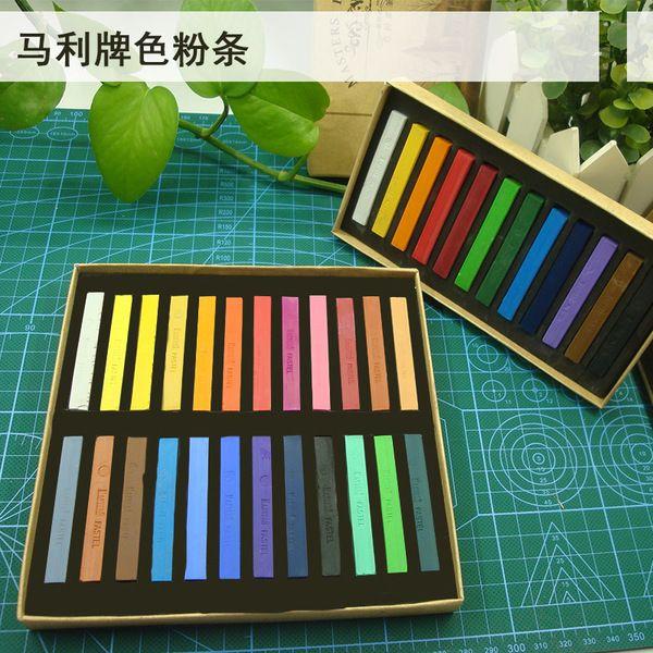 [12] Марли тонер цвет цвет пастельный мелок палочка порошок макияж кисти Сиван…