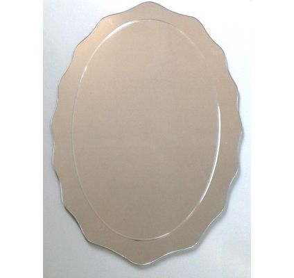 Espejo biselado Ovalado - www.claf.cl