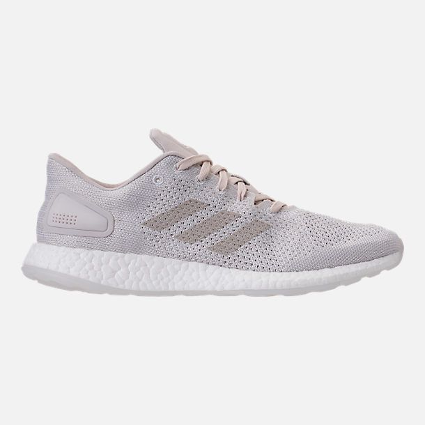 fb7f87c3d7d Right view of Men s adidas PureBOOST DPR Running Shoes in  Grey Chapea Footwear White