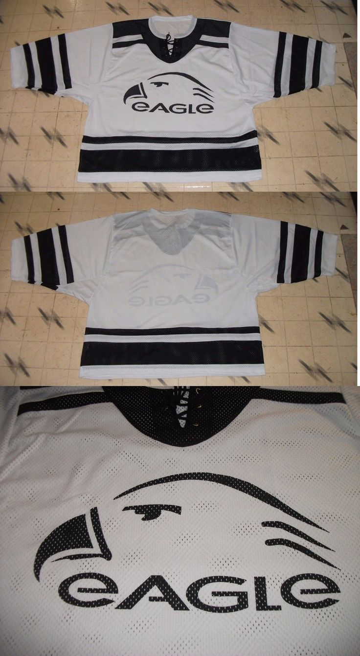 Other Hockey Goalie Equipment 79765: Brand New W/O Tags Eagle Goalie Cut Goalie Hockey Jersey Size 60 G Tie-Neck -> BUY IT NOW ONLY: $69.99 on eBay!