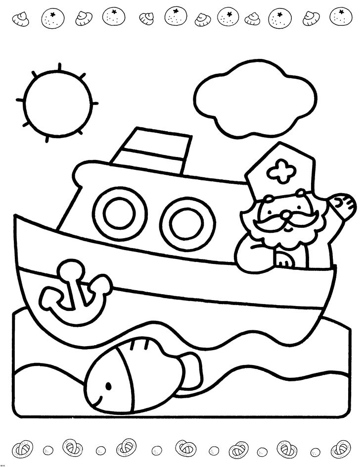 sinterklaas coloring pages - photo#22