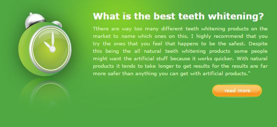 What is the best teeth whitening?