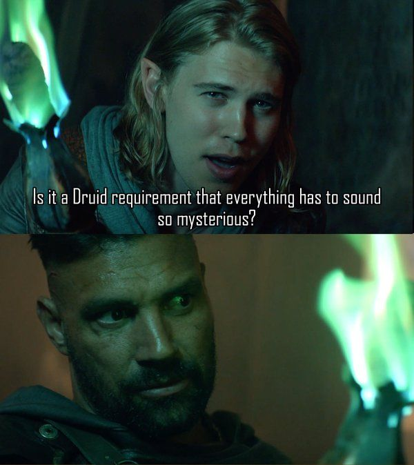 A great line from last night's premiere. Watch the first 4 episodes right here: #Shannara