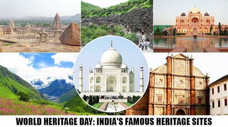 Celebrate World Heritage Day with India's most famous World heritage Sites. #WorldHeritageDay