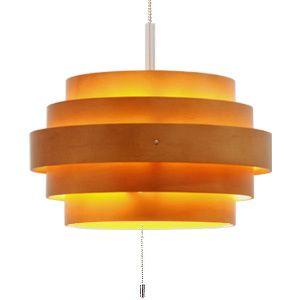 ■ RING (rings) pendant light L Brown (LED lighting ceiling lighting Scandinavian ceiling light pendant light living Cafe interior lighting l...