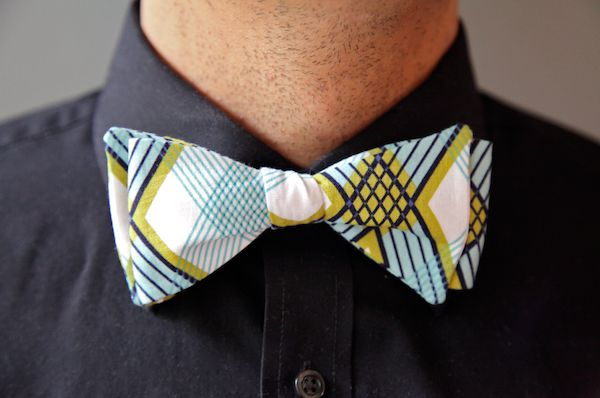 Sew Like My Mom | Men's Bow Tie Tutorial and free pattern -- Uses Pellon® 950F ShirTailor®!!
