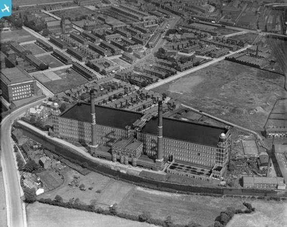 Broadstone Cotton Mills, Reddish, 1927