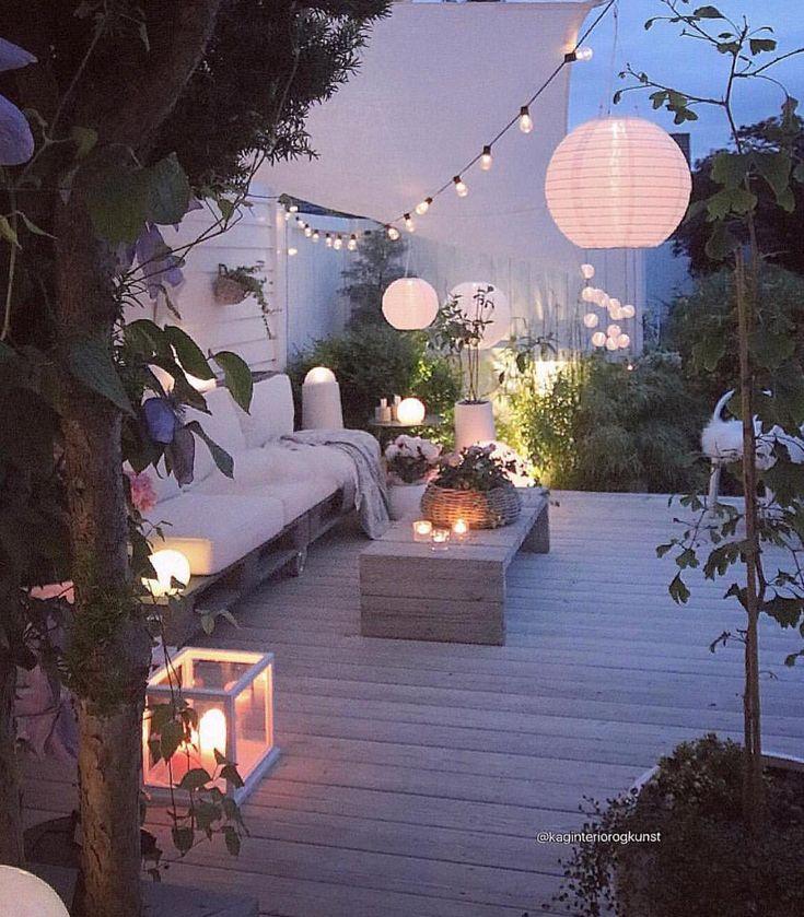 Terrassen Beleuchtung