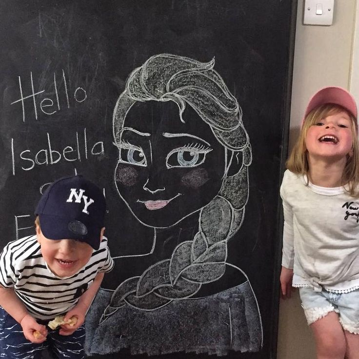 I love this crazy pair so so so much! They're growing up too fast though! I try to cherish every moment I get with them (I wish I could see them more often), and of course the temptation to spoil them rotten is almost uncontrollable! I drew this picture of Elsa whilst we were on a family holiday at Centre Parcs, and they loved it - which is a relief... children can be extremely harsh critics! Haha. . . . #family #niece #nephew #centreparcs #familyholiday #love #frozen #elsa #disney #chalk…