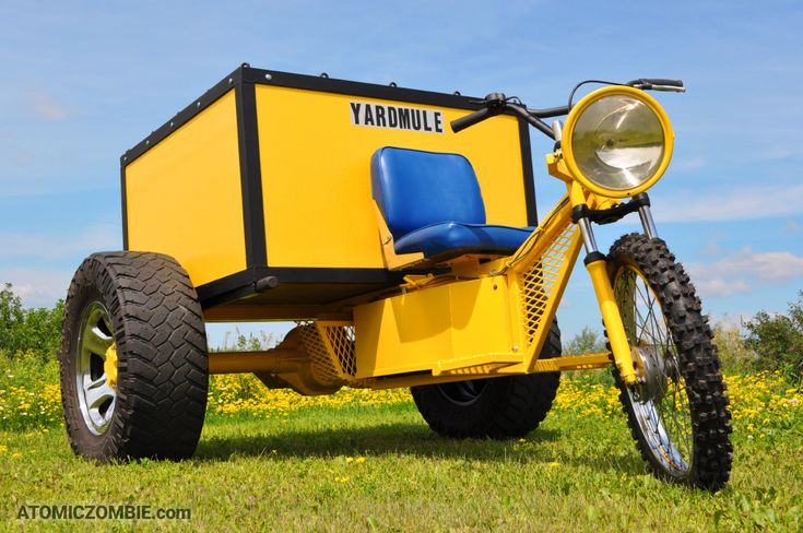 Yard Mule DIY Electric Dump Trike. Diy plans, Yard carts