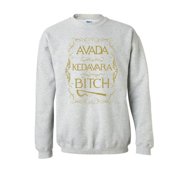 Avada Kadavra Harry Sweat Shirts Long sleeves