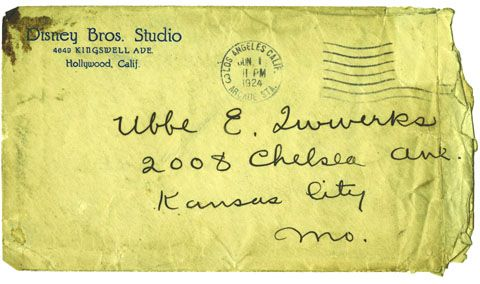 "Disney's 1924 letter to Ub Iwerks   ""Don't hesitate! Do it now!"""