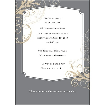 33 best invitations images on Pinterest Wedding reception - business dinner invitation sample