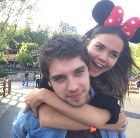 Maia Mitchell and David Lambert