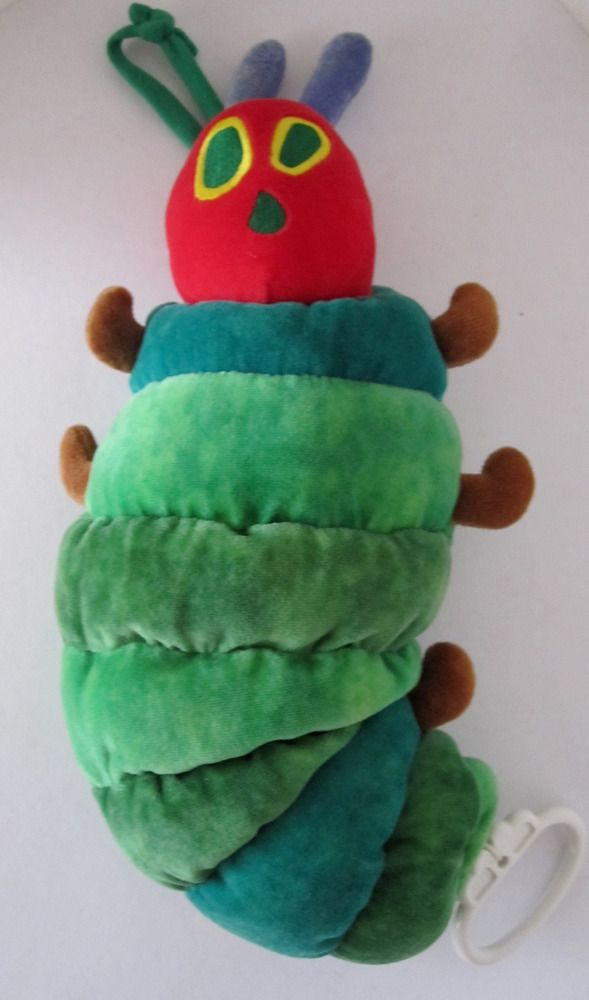 Eric Carle The Very Hungry Caterpillar Plush Stuffed Musical Toy By