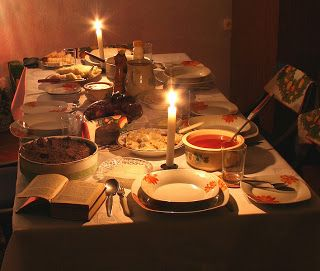 """Christmas Blog: The """"Holy Supper"""""""