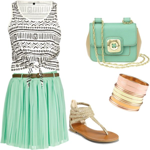 : Fashion, Mint Green, Style, Clothes, Color, Summer Outfits