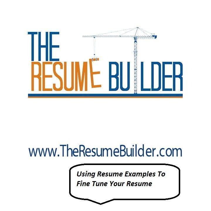 53 best The Resume Builder images on Pinterest Resume builder - first resume builder