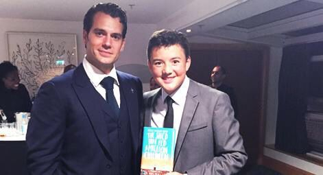 """""""@MarysMeals: We always knew Charlie Doherty was a superhero. Here he is with Superman actor #HenryCavill at the #iofawards!"""" #True #Superman #ManfromUNCLE #BatmanvSuperman #London #RMCTF #Charity #ambassador #ManofSteel #ClarkKent #TheManFromUNCLE"""