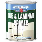White Knight tile primer and paint  instructions / products for painting tiled floors