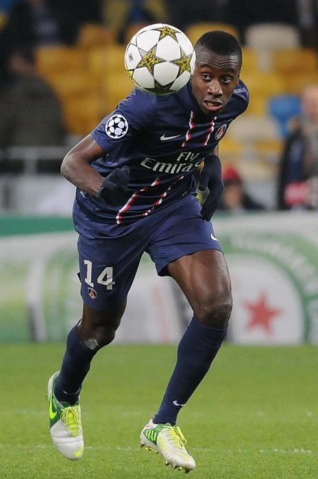88. Blaise Matuidi The French holding midfielder has impressed for French champions PSG since signing in his holding midfield role, dictating play and breaking up numerous attacks, leading to rumours of him being reunited with Carlo Ancelotti in January.