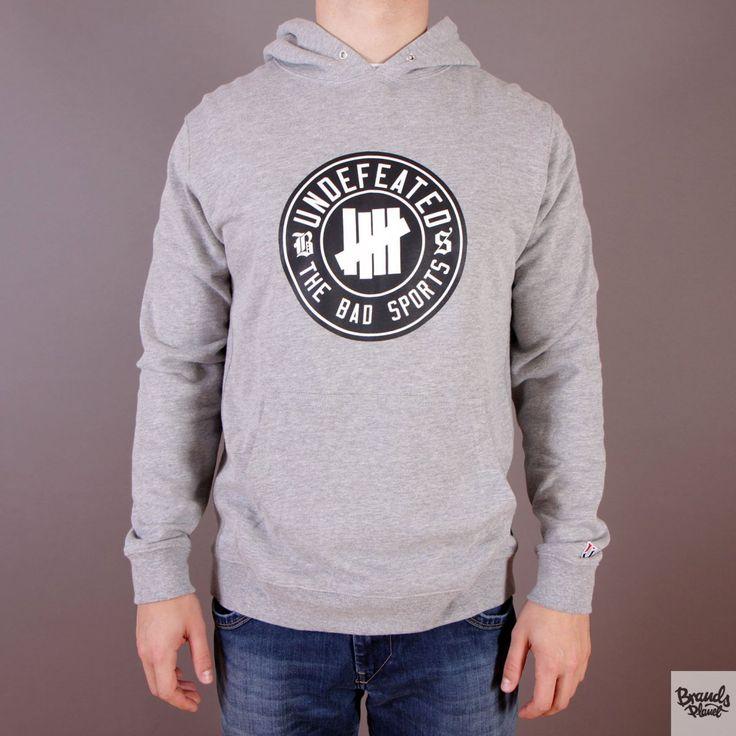 Szara bluza z kapturem Undefeated BS Pullover Hoodie Grey Heather / www.brandsplanet.pl / #undefeated #UNDFTD