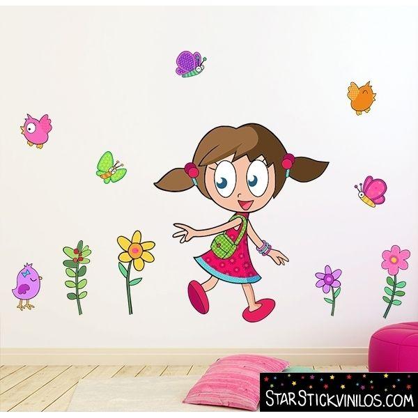 Vinilo infantil ni a coqueta play vinil para dormitorios for Vinilos dormitorios infantiles