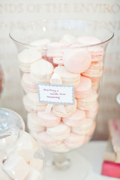 So Cute! French Macarons display