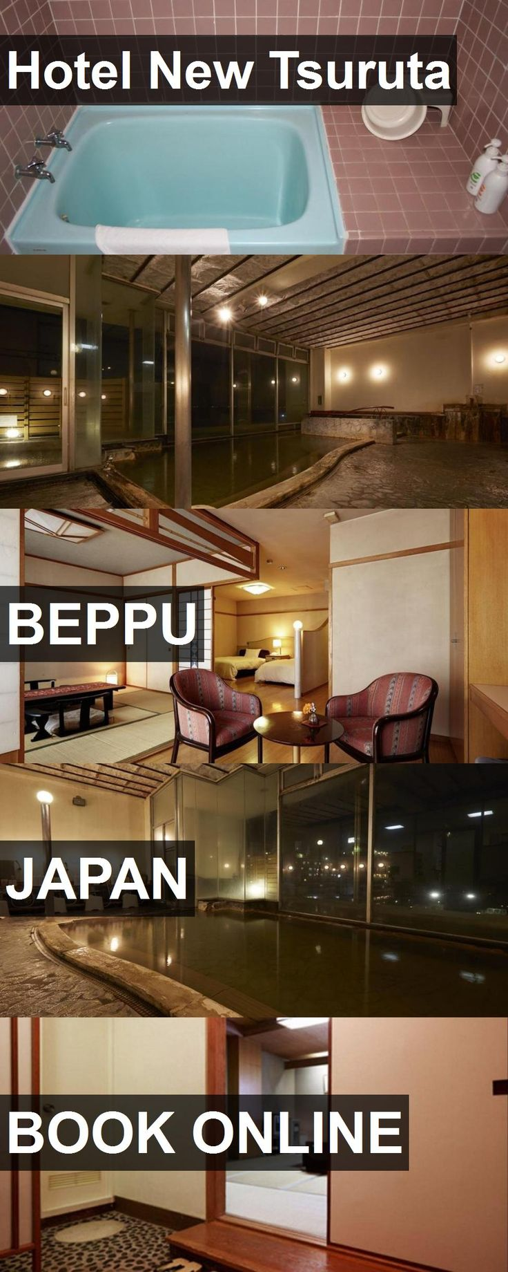 Hotel New Tsuruta in Beppu, Japan. For more information, photos, reviews and best prices please follow the link. #Japan #Beppu #travel #vacation #hotel